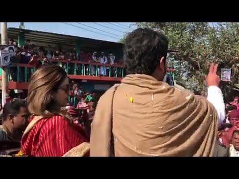 mp nixon Chowdhury  সহিংসতা করার জন্য নিষেধ করলেন প্রিয় নেতা,পাশে ধারানো রয়েছে প্রিয়নেতার সহধর্মিণী