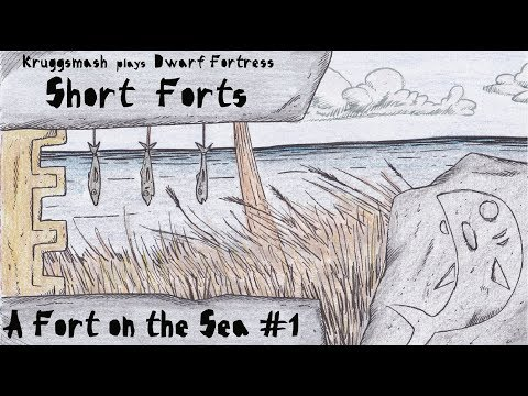 Dwarf Fortress Short Forts: A Fort On The Sea #1