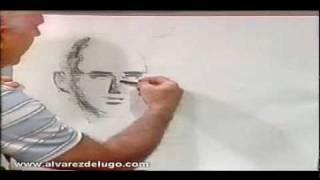 Luis Alvarez de Lugo - Cómo dibujar un Retrato Parte 3