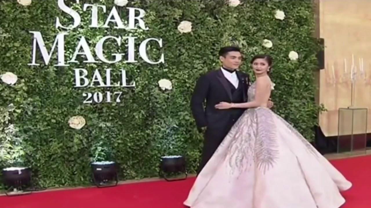 Kimxi Kim Chiu & Xian Lim Star Magic Ball 2017 #starmagicball2017 ...