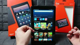 my first week with the new Amazon Fire HD 10 tablet