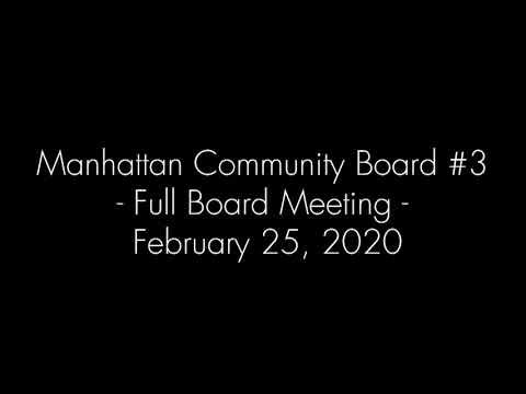 Manhattan Community Board