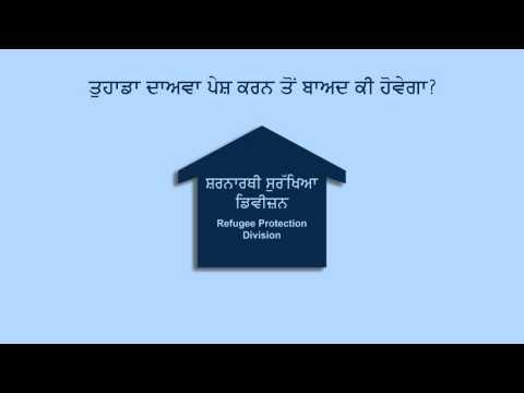 Immigration: Refugee Claim Process (Punjabi)