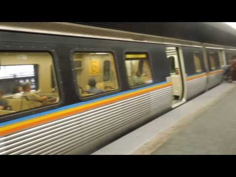 MARTA: Gold Line trains at Civic Center