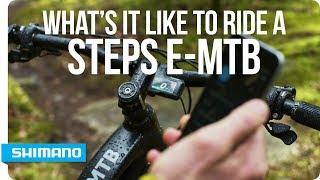 What It's Like to Ride a Shimano STEPS e-MTB? | SHIMANO
