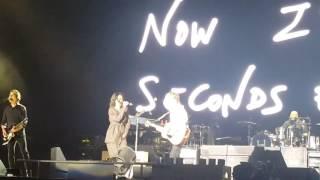 rihanna paul mccartney fourfiveseconds live 10 15 2016