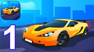 Race Master 3D - Gameplay Walkthrough Part 1 All Levels 1-8 (Android, iOS) screenshot 1
