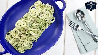 Pumpkin Seed Pesto with Zucchini Noodles
