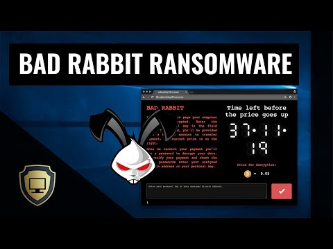 Bad Rabbit Ransomware | Early Halloween?