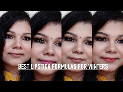 best-lipstick-formula-for-winters-i-comfortable-i-non---drying-matte-lipsticks-i-swatches-#winters