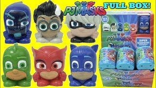 PJ Masks Mashems Squishy Surprise Capsules Unboxing Series 1