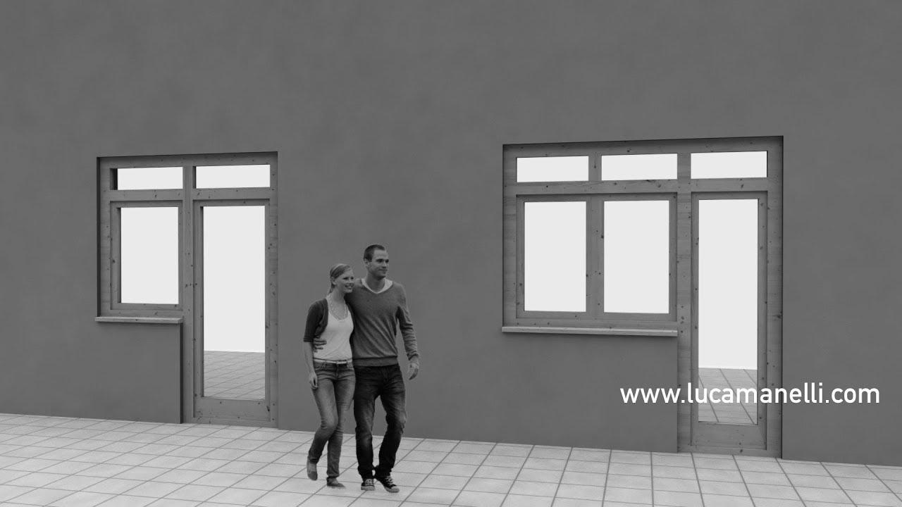 Archicad cambiare il verso di apertura di porte e finestre - Cambiare apertura porta frigorifero ariston ...