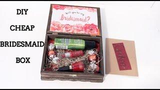 DIY Cheap Bridesmaid Boxes |