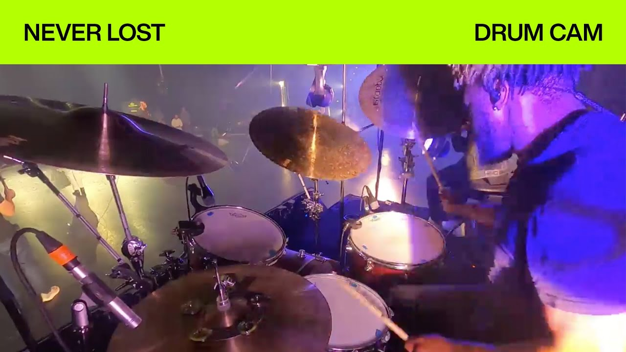 Never Lost | Drum Cam | Elevation Worship