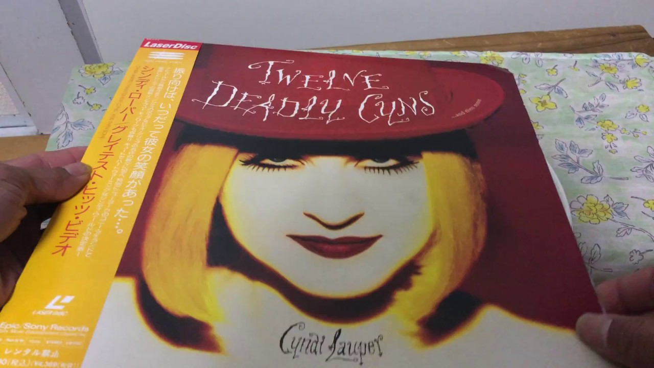Cyndi Lauper Twelve Deadly Cyns And Then Some Ld Unboxing Youtube