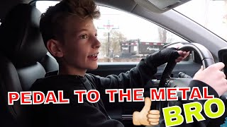 *BUSTED* I WENT DRIVING...AGAIN!