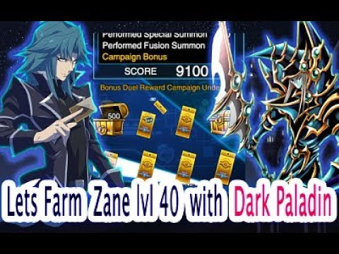 7e2134ff2d64 Lvl 40   30 Zane Farm Deck With Dark Paladin Yu-Gi-Oh Duel Links ...