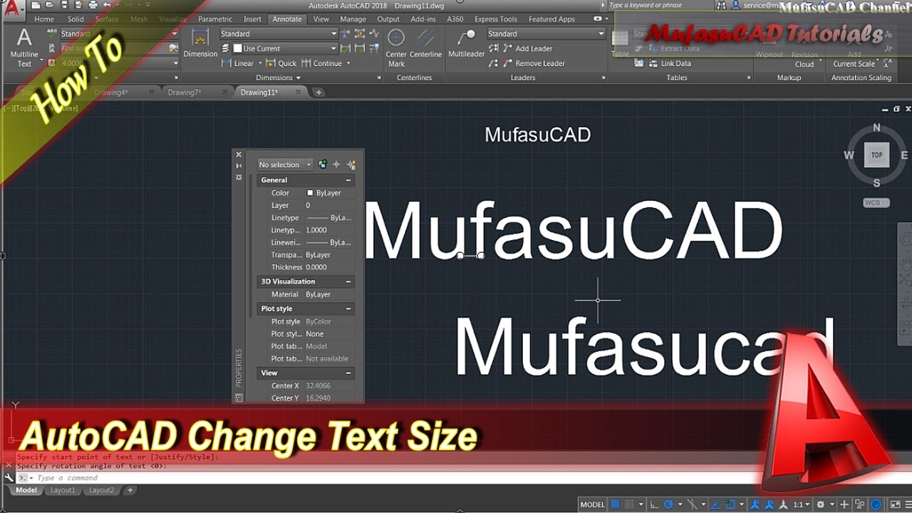 How To Change Text Size In Autocad Peopledavidjoel