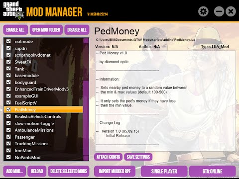 GTAV Mod Manager Tutorial