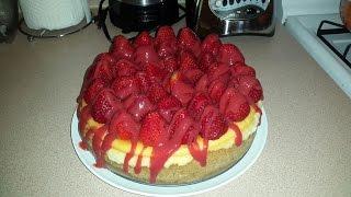 How to make New York Style Cheesecake: Strawberry Cheesecake Recipe