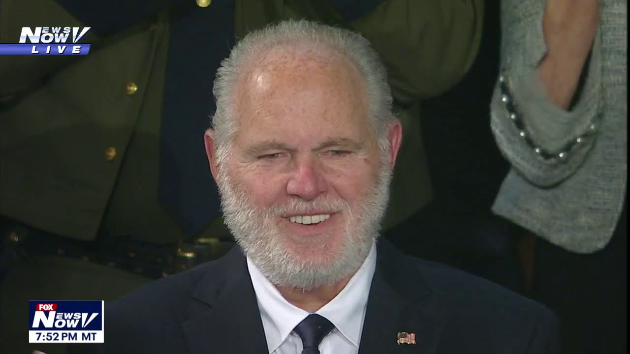 Rush Limbaugh gets surprise honor, Presidential Medal of Freedom