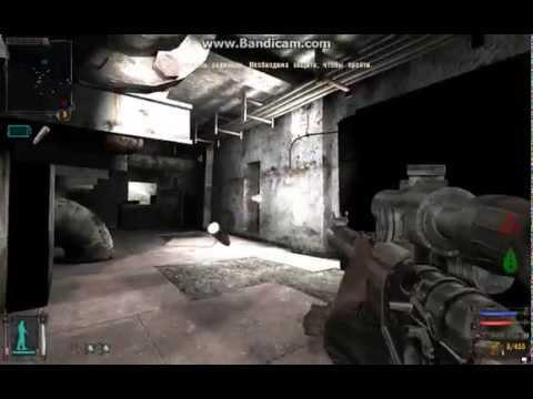 Игра в Сталкер Тень Чернобыля - Поиск тайной двери / Stalker - Find The Secret Door