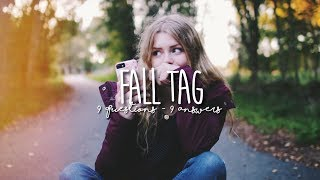 COZY SPOOKY FALL TAG 2017 ☕🍂 get into the fall mood with me!