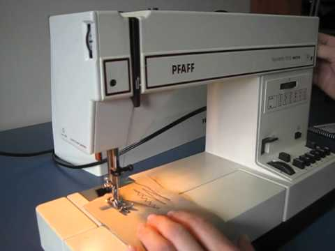 Pfaff Tipmatic 40 Sewing Machine On Ebay YouTube Delectable Ebay Pfaff Sewing Machines