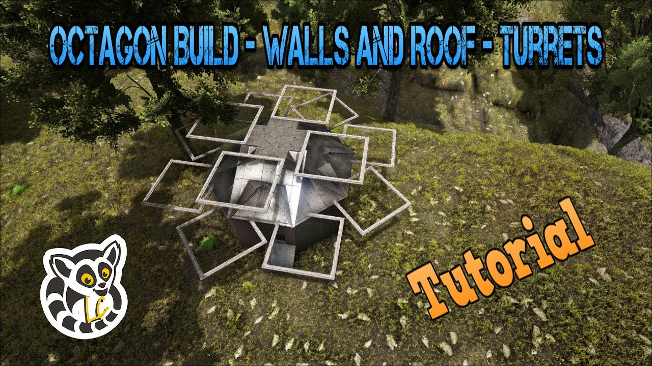Ark Survival Evolved Octagon Build Walls And Roof