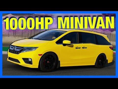 Forza 7 Online : MINIVAN TEST DRIVE!! (Top Speed, Customization & Drifting)