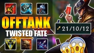 ad offtank twisted fate jungle league of legends