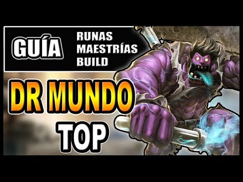 Vote no on unas maestr as y build gameplay esp for Mundo top build