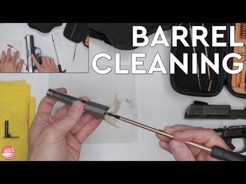 How to Clean a Gun Barrel (Ruger SR9 Barrel)