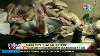 Police seize suspicious consignment of sugar, other goods in Ol Kalou