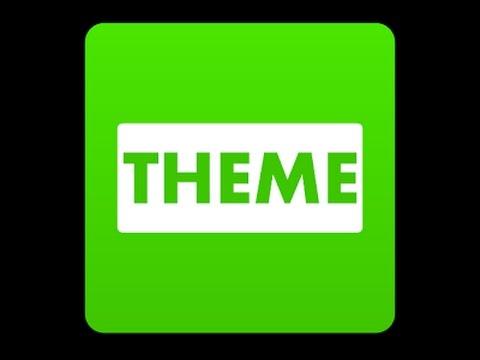 Cara Ubah Tema Line dengan Theme Changer