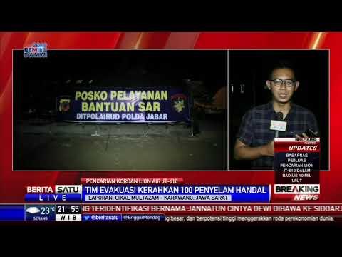 Badan Utama Lion Air JT-610 Terdeteksi dekat Tanjung Pakis