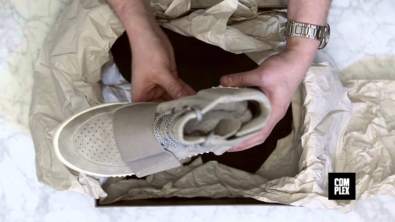 The Adidas Yeezy 750 Boost | Honest Unboxings On Complex