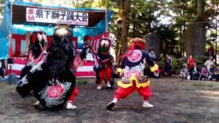 2018青森県獅子踊り大会5-2 高田組