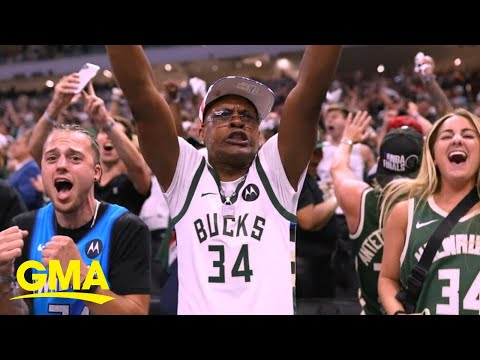 Milwaukee Bucks hope to win 1st franchise title in 50 years l GMA