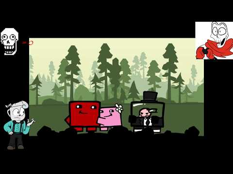 A Beefy Beginning  - Papyrus Plays Super Meat Boy - Part 1 [K.A.T.V.]