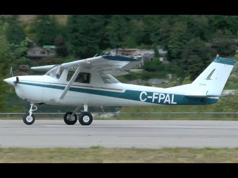 Cessna 150 Approach and Landing