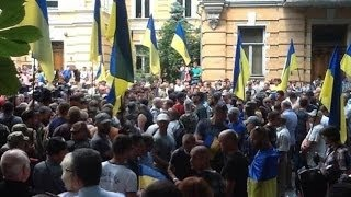 Батальоны 'Днепр' 'Айдар' 'Донбасс' требуют возобновить АТО на Востоке Украина сегодня, новости