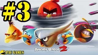Angry Birds 2 - Level 16 - 22 New Boss CHEF PIG Silver Unlocked 3 Stars