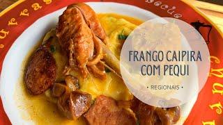 PROVEI FRANGO CAIPIRA COM PEQUI #shorts