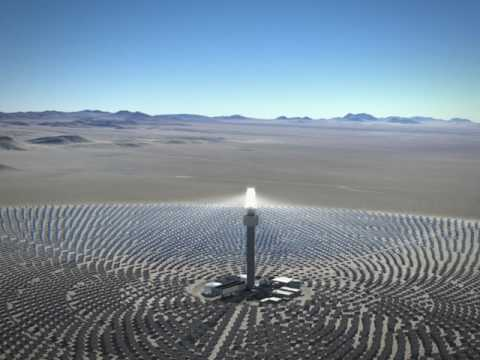 Solar Reserve (Tonopah, Nevada) 2014