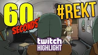 BEATEN 60 SECONDS ON TSAR BOMBA ★ 60 Seconds! Livestream Highlight!