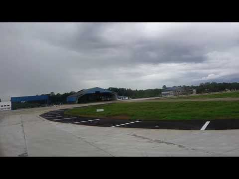 Touch down at the New Puerto Princesa international Airport
