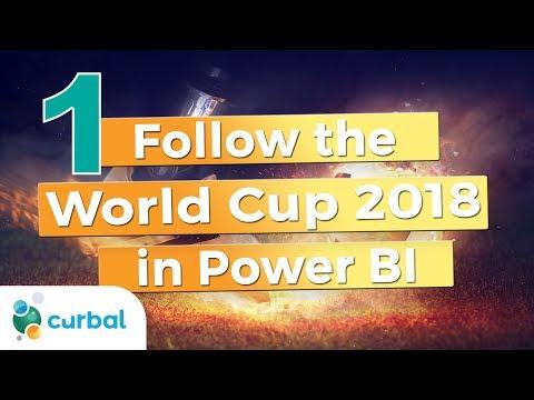 Follow the FIFA World Cup 2018 in Power BI – Curbal