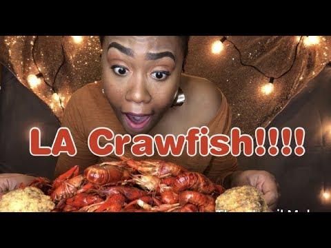 Crawfish Mukbang With Cheese Stuffed Boudin Balls- Eat And Chat