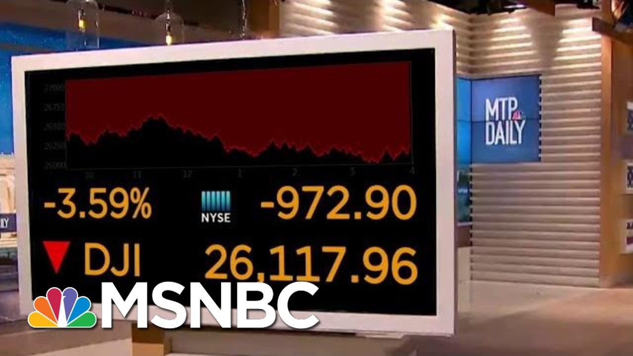 Fears And Confusion Surrounding The Coronavirus Have Caused Stock Market Plummet | MTP Daily | MSNBC